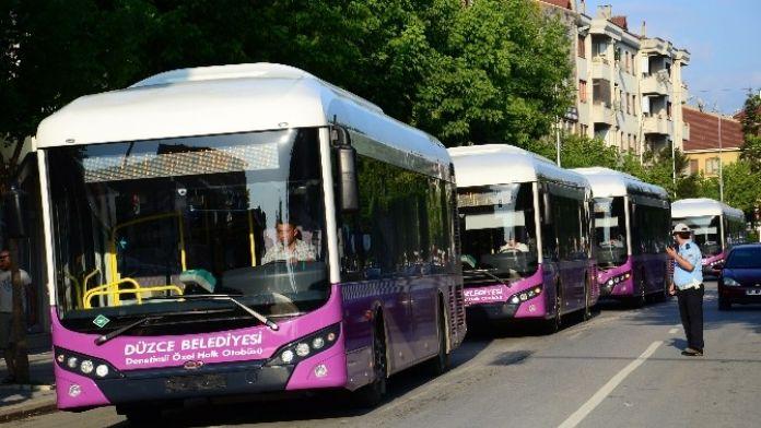 Cng'li 5 Otobüs Daha Nisan'da Sefere Çıkacak