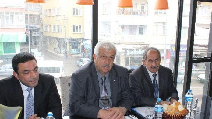 MHP İl Başkanı Saltan, Basın Mensuplarıyla Bir Araya Geldi