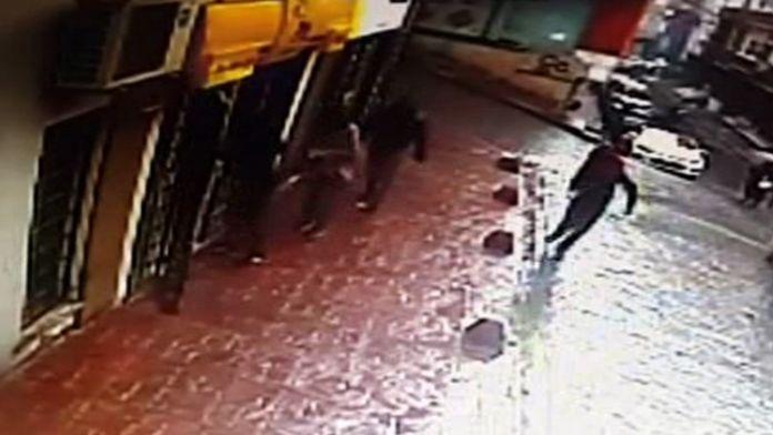 İstanbul'da güpegündüz soygun !
