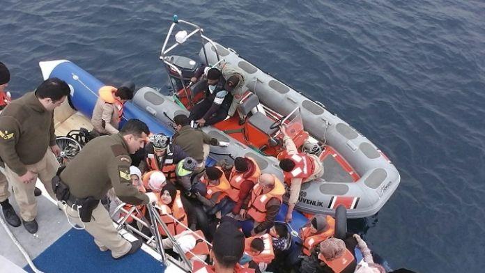 Ege'de 15 günde 4 bin 471 mülteci yakalandı