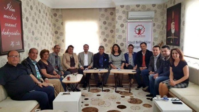 Agc Yönetim Kurulu Şah-ı Merdan Derneği'ni Ziyaret Etti