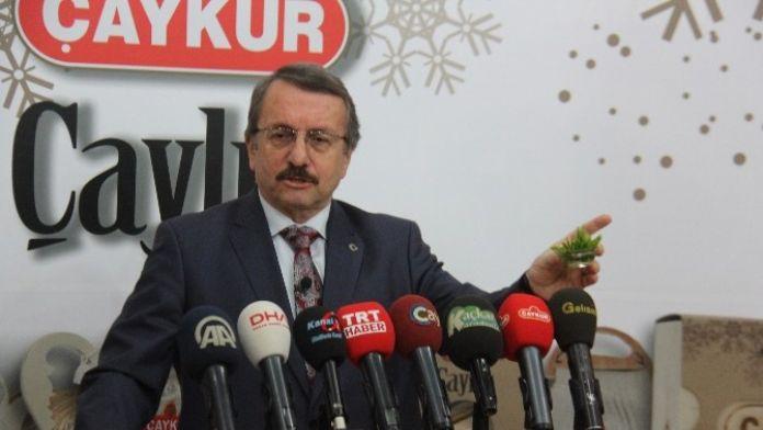 ÇAYKUR Genel Müdürü Sütlüoğlu'ndan Ruhsatsız Çay Bahçesi Uyarısı
