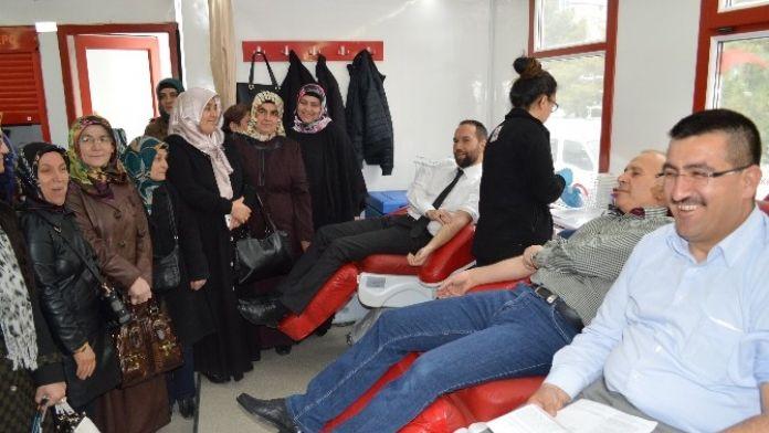 AK Parti İl Teşkilatı Kan Bağışladı