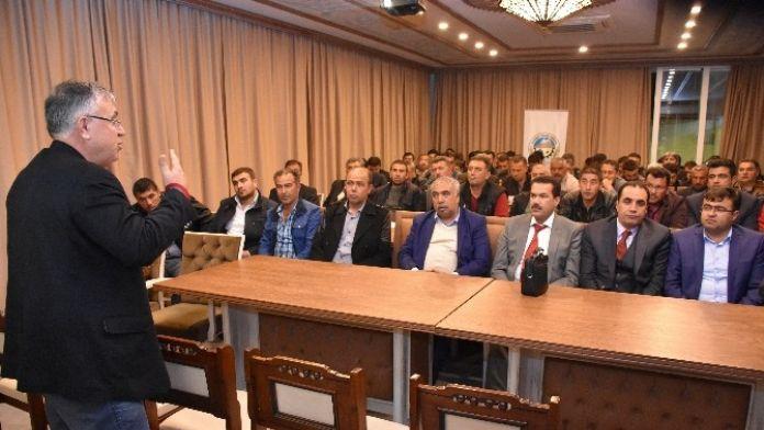 Aksaray'da Hayvan Tacirlerinin Sorunları İstişare Edildi