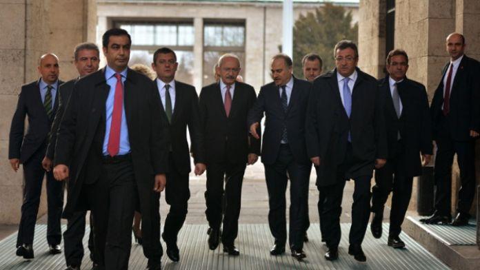 Kılıçdaroğlu Meclis Başkanı ile görüştü