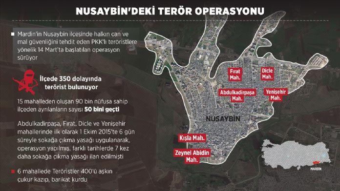 GRAFİKLİ - Nusaybin'deki terör operasyonu