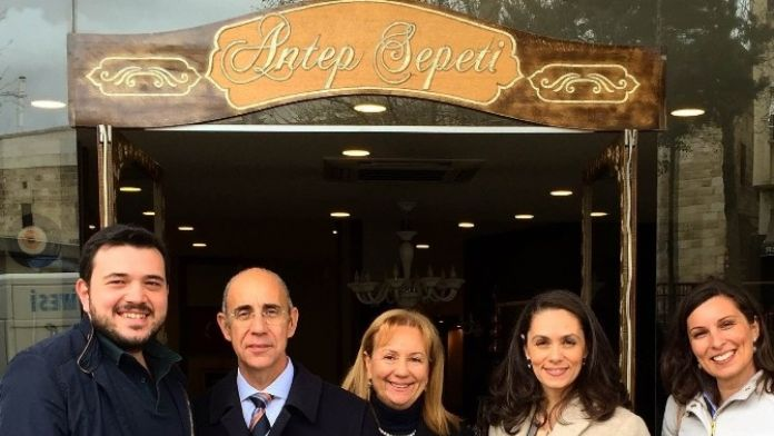 İtalyan Büyükelçi Antep Sepetinde