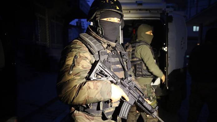 İstanbul'da 16 ilçede operasyon