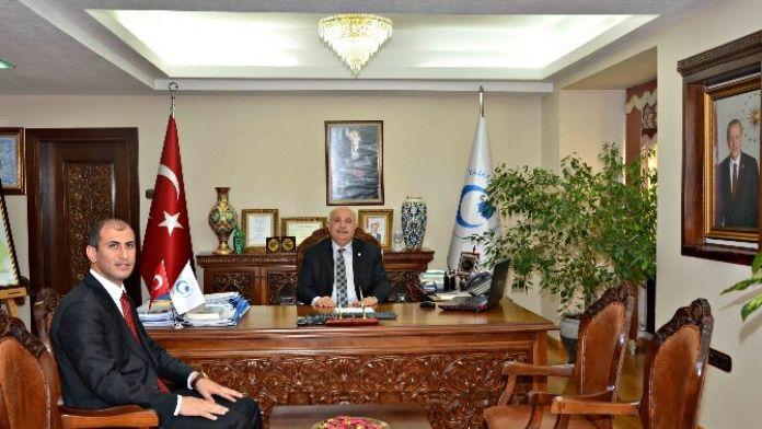 Tut Kaymakamı Aksu Adıyaman Üniversitesini Ziyaret Etti