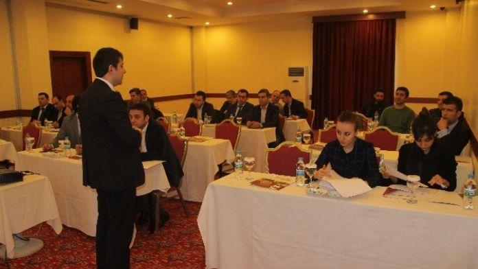 Elazığ'da 'AB Fonları İçin Proje Hazırlama Eğitimi' Veriliyor
