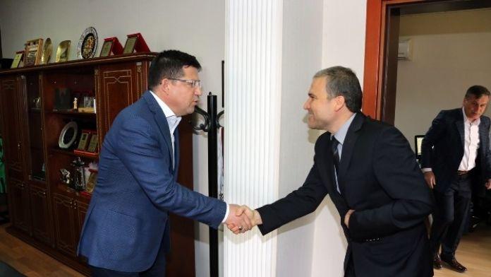 Mimarlar Odası'ndan Başkan Subaşıoğlu'na Ziyaret