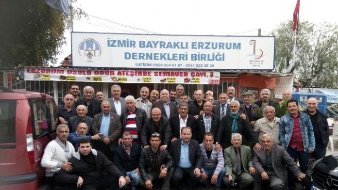 Egedeki Erzurum Hasankalelilerden Anlamlı Gün