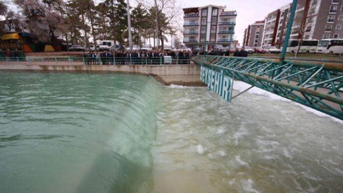 Konya'ya su verilmeye başlandı