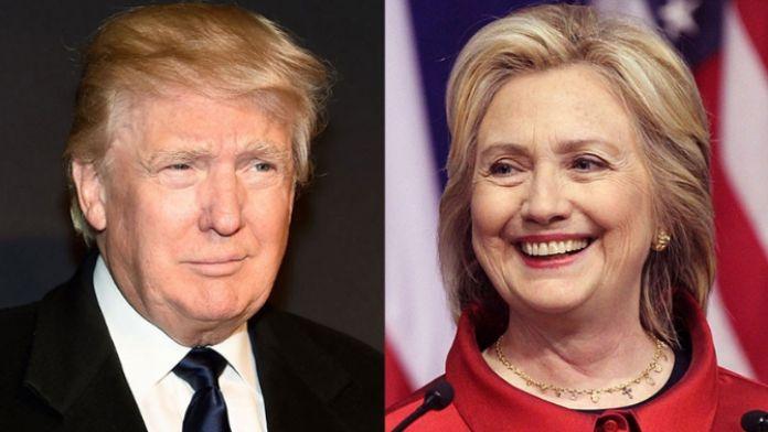 Ön seçimler: Clinton: 4, Trump: 3