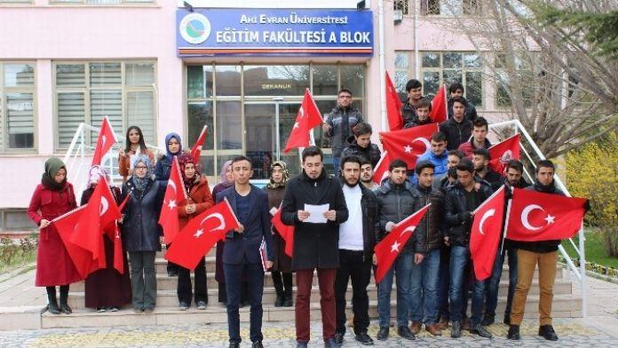 AK Parti Üniversite Birimi Terörü Kınadı