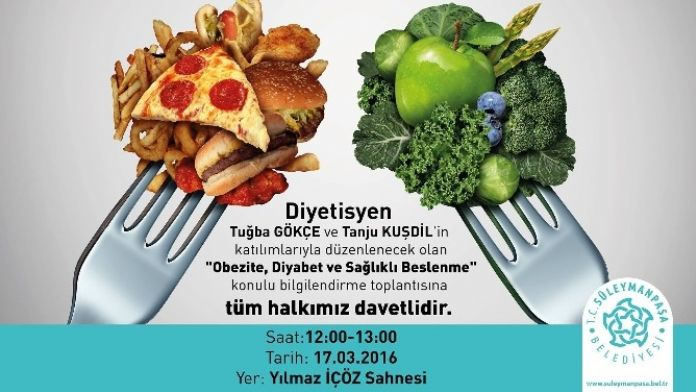 Sağlıkta Bilgilendirme Toplantıları 'Obezite, Diyabet Ve Sağlıklı Beslenme' İle Devam Edecek