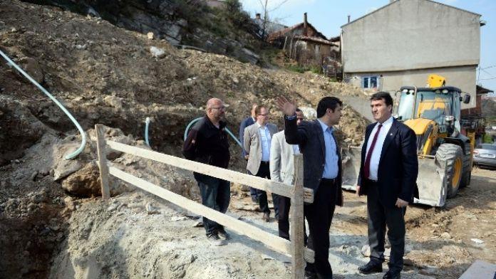 Osmangazi'den Dağ Yamaçlarına Neşter