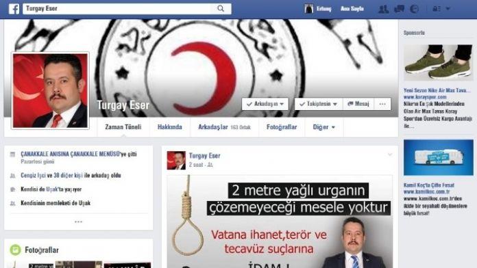 AK Parti'li Başkan: 'Vatana İhanet, Terör Ve Tecavüz Suçlarına İdam'
