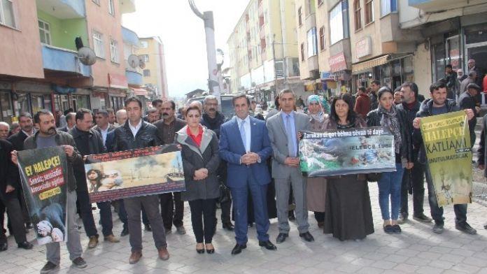 Iğdır'da Halepçe Katliamı Protesto Edildi