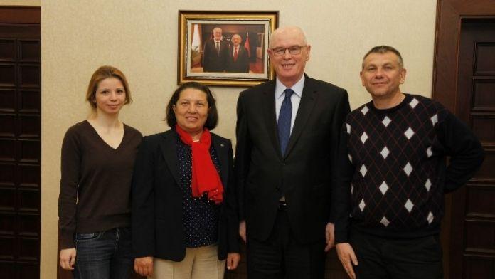Manavgat Kırım Derneği'nden Başkan Kurt'a Ziyaret