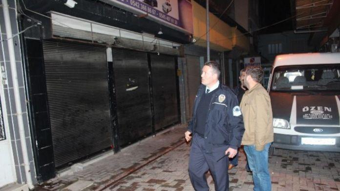 Nazilli'de Oto Kiralama Firmasına Saldırı
