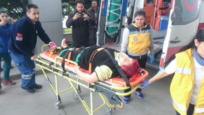 Kendini asan kadın son anda kurtarıldı - fotoğraf