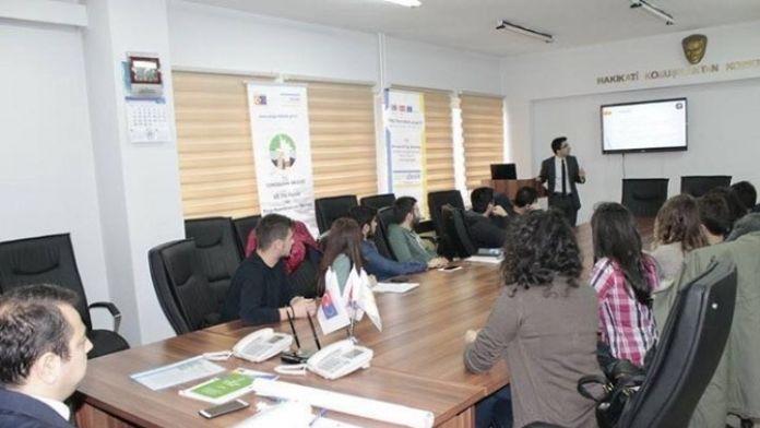 Kent Konseyi Gençleri Erasmus İle Bilgilendirildi