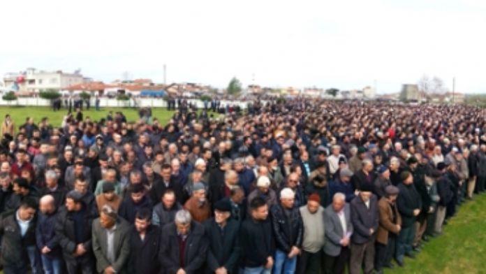 Şehit Astsubayı binler uğurladı