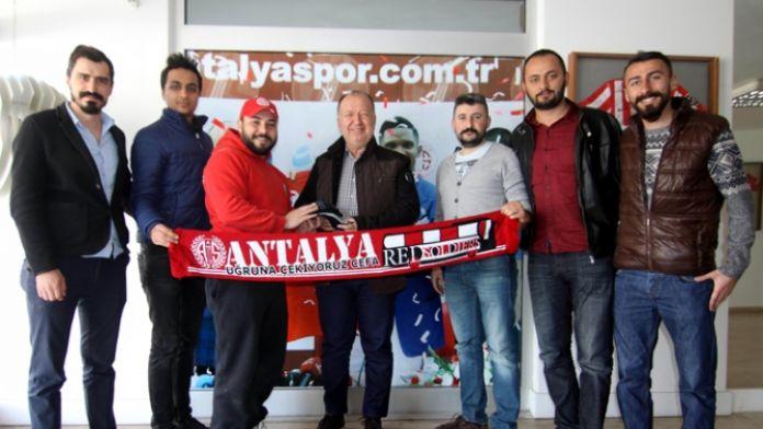 Antalyaspor Başkanına hediye olarak...