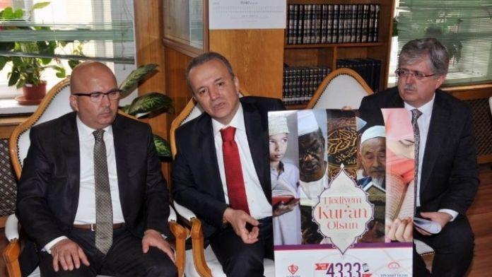 Afyonkarahisar'da 'Hediyem Kur'an Olsun' Projesi Tanıtım Toplantısı Yapıldı