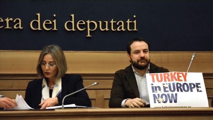 İtalyan derneğinden Türkiye'nin AB üyeliğine destek