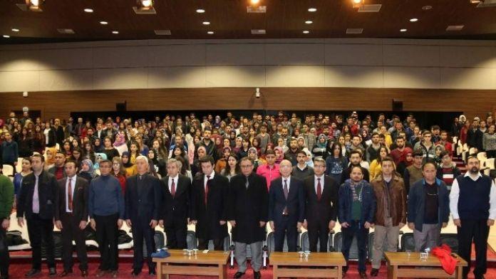 Nehü'de 101. Yılında Çanakkale Ruhu Konulu Konferans Düzenlendi