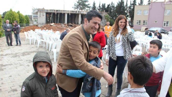 Başkan Genç, Ortaokul Temel Atma Törenine Katıldı