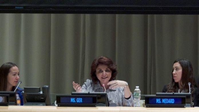 Nur Ger'den ABD'de 'Cinsiyet Eşitliği' Mesajı