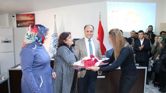 Girişimci Adaylarından Başkan Özaltun'a Teşekkür