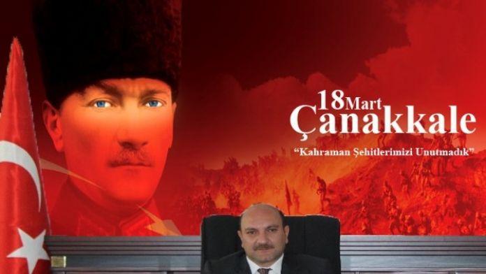 Kaymakam Çakıcı'dan 18 Mart Şehitler Günü Mesajı