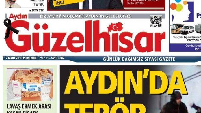Güzelhisar Gazetesi Siyah Kurdele İle Yayın Yapmaya Başladı
