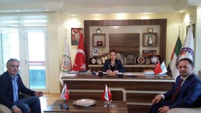 Antalya İş Dünyası Başkanı Hakan Çimen Ankara'da