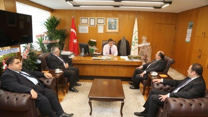 Kmtso'dan DSİ Bölge Müdürü Köleoğlu'na Ziyaret