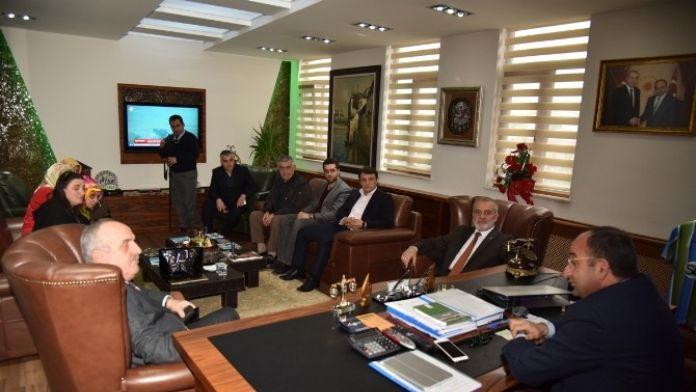 Başkan Üzülmez, Milletvekili Aygün'ü Ağırladı