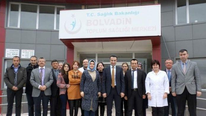 Kaymakam Akpay'dan Tıp Bayramı Ziyaretleri