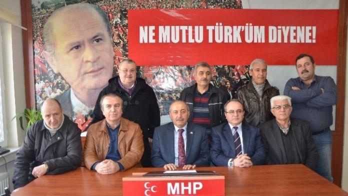 Tepebaşı MHP'den Terör Açıklaması