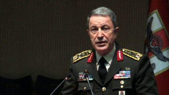 Genelkurmay Başkanı Orgeneral Akar'dan 'Terörle Mücadele' Açıklaması