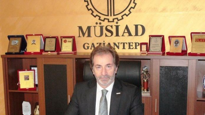 MÜSİAD Gaziantep Şube Başkan Mehmet Çelenk Çanakkale Kutlaması