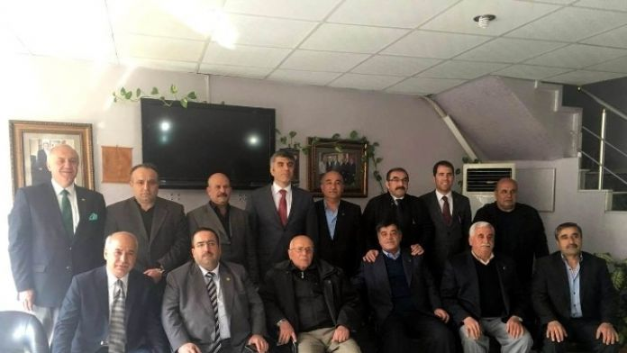 İl Emniyet Müdürü Özdemir, Kesob Başkanı Ömer Sevengül'ü Ziyaret Etti