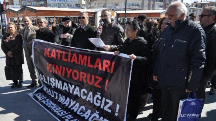 Sivas Demokrasi Platformu'ndan Ankara'daki saldırıya tepki