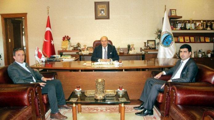Kaymakam Şenkon'dan Taşköprü Belediye Başkanı Arslan'a Ziyaret