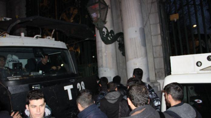 Galatasaray Meydanı'nda eyleme müdahale: 4 gözaltı