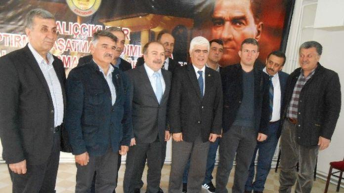 Eskişehir Seyyar Tuhafiyeciler Ve İşportacılar Odası'ndan Miyad'a Ziyaret