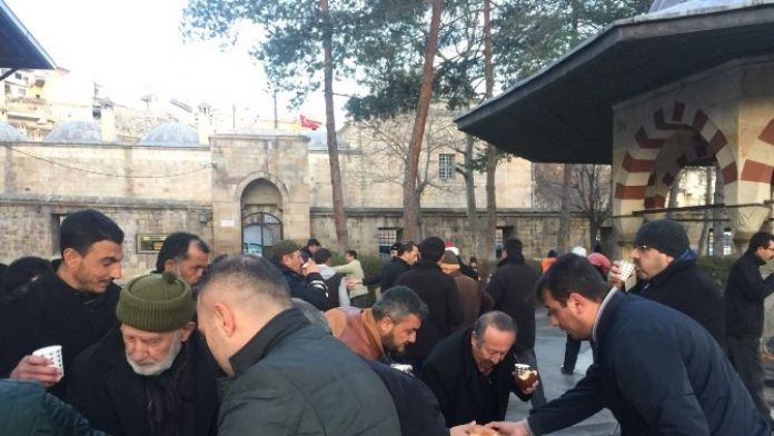 Kurşunlu Camii'nde Şehitler İçin Hatim-i Şerif Okundu